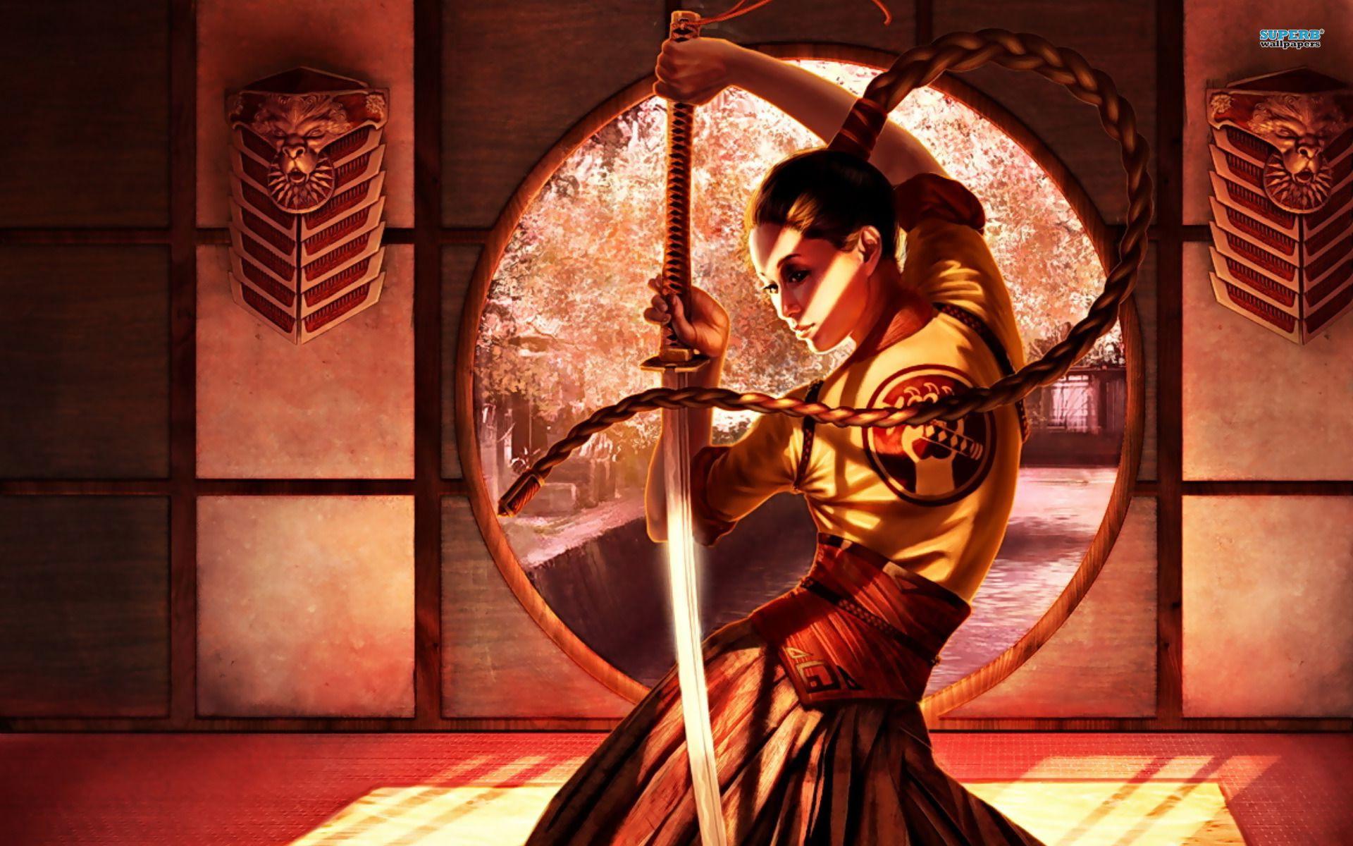 Anime Samurai Girls Female samurai, Samurai, Samurai