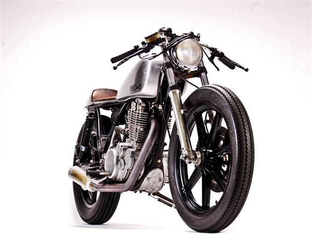 CUSTOM YAMAHA SR500 BIKE BY MOTOHANGAR