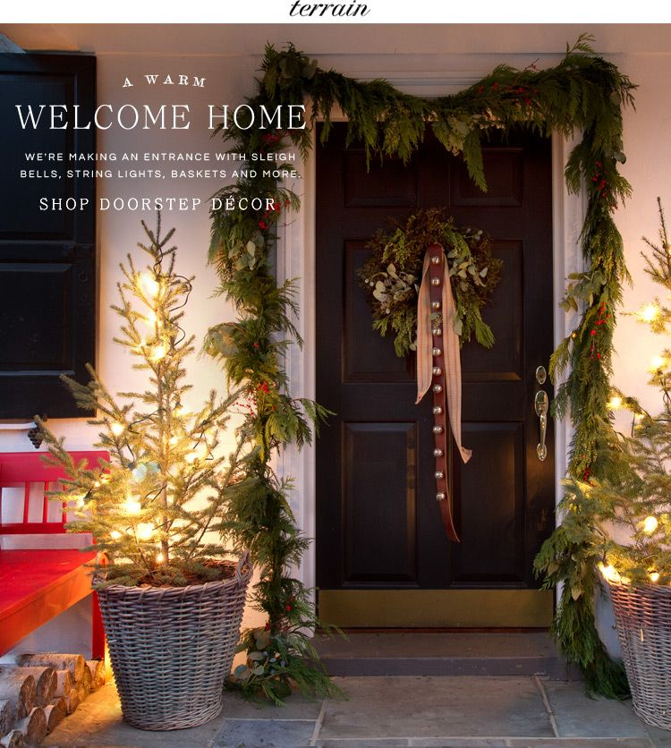 A Warm Welcome Home Festival Lightswelcome Homeholiday Decoratingchristmas