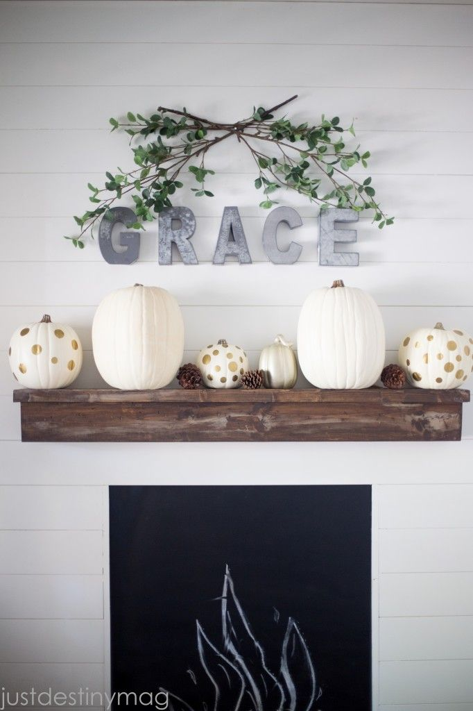 35 Fall Decor Ideas   Fall decor, Simple diy and Mantels Wo Bedroom Shelf Decorating Ideas Html on hide television design ideas, bedroom designs, western bedroom ideas, bedroom wall art, shelving ideas, bedroom shelf for candles, storage for small bedrooms ideas, beautiful bedroom ideas,