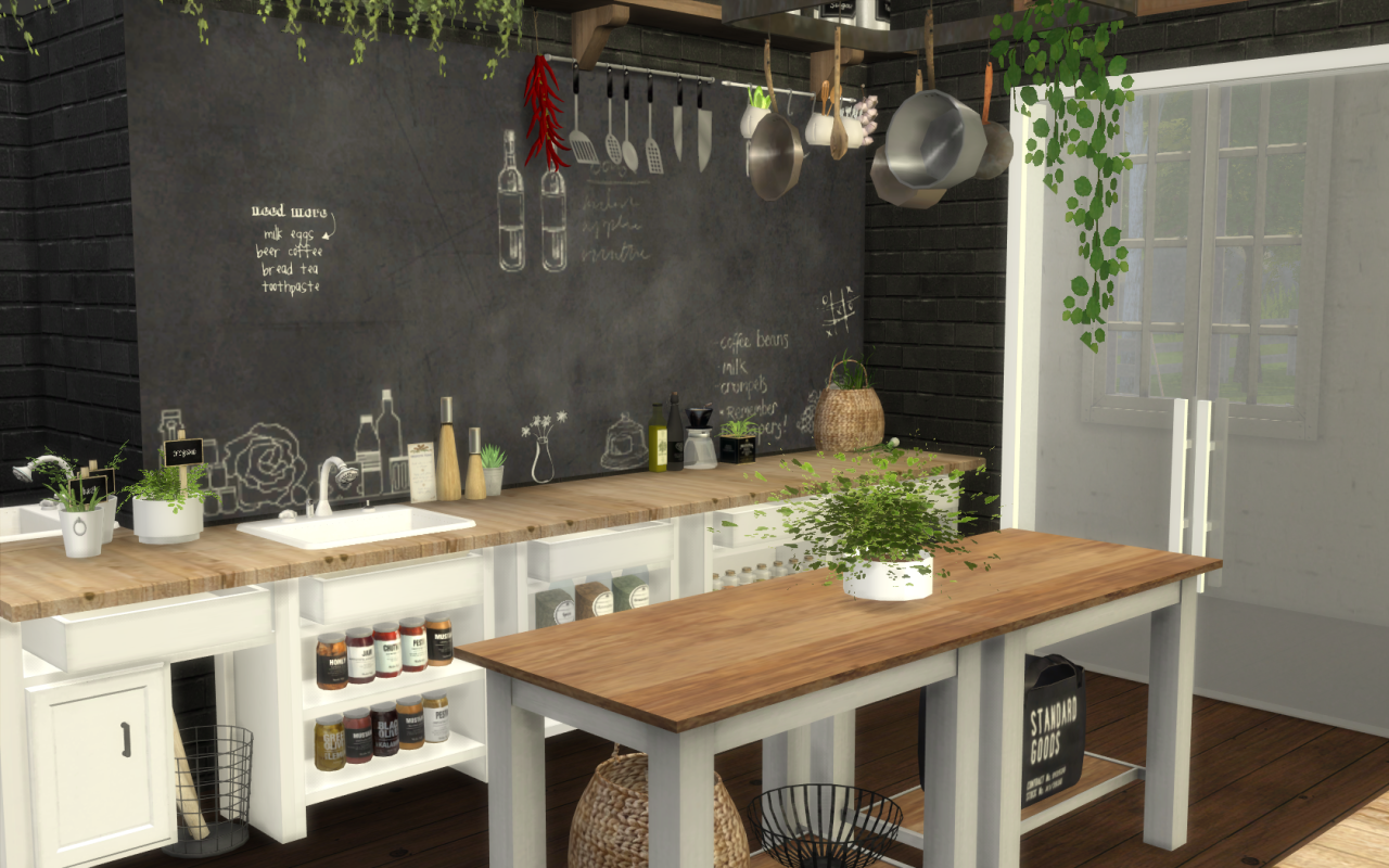 My Sims4cc Finds Sim Sims 4 Restaurant Sims 4 Houses