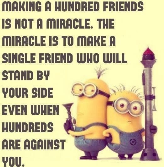 Top 30 Famous Minion Friendship Quotes | Friendship quotes ...