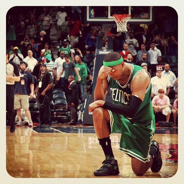 Taking A Knee... And Homecourt. #tebowing #piercing