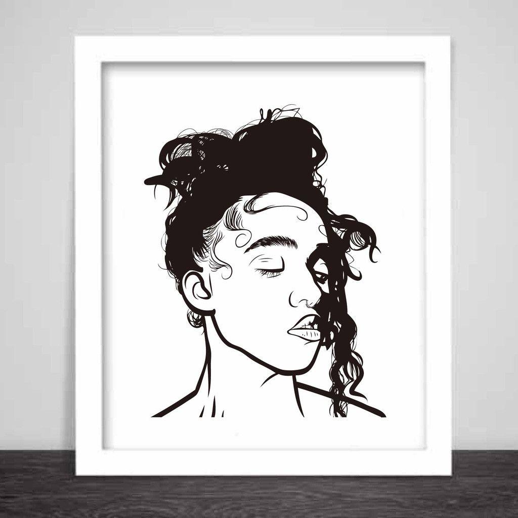 FKA Twigs Art Poster (8x10 to 24x36) 2 // M3LL155X LP1 British #twigart