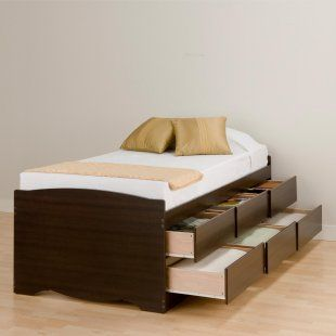 Neat Platform Bed Bed Frame With Drawers Platform Bed With