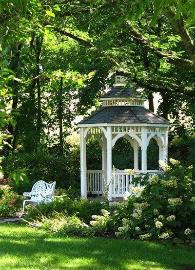 Pingl par nicole lg sur un petit coin de repos jardins - Petit jardin romantique tours ...