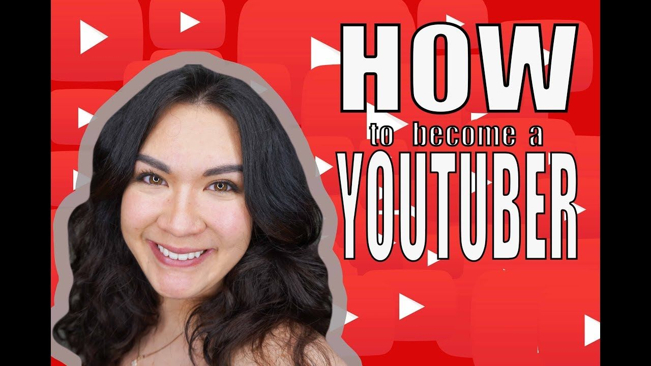 HOW TO A YOUTUBER YouTube Youtube, How to