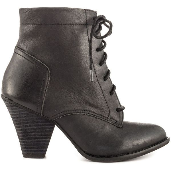 Black Mojo Moxy Womens Leather Boots Turnpike