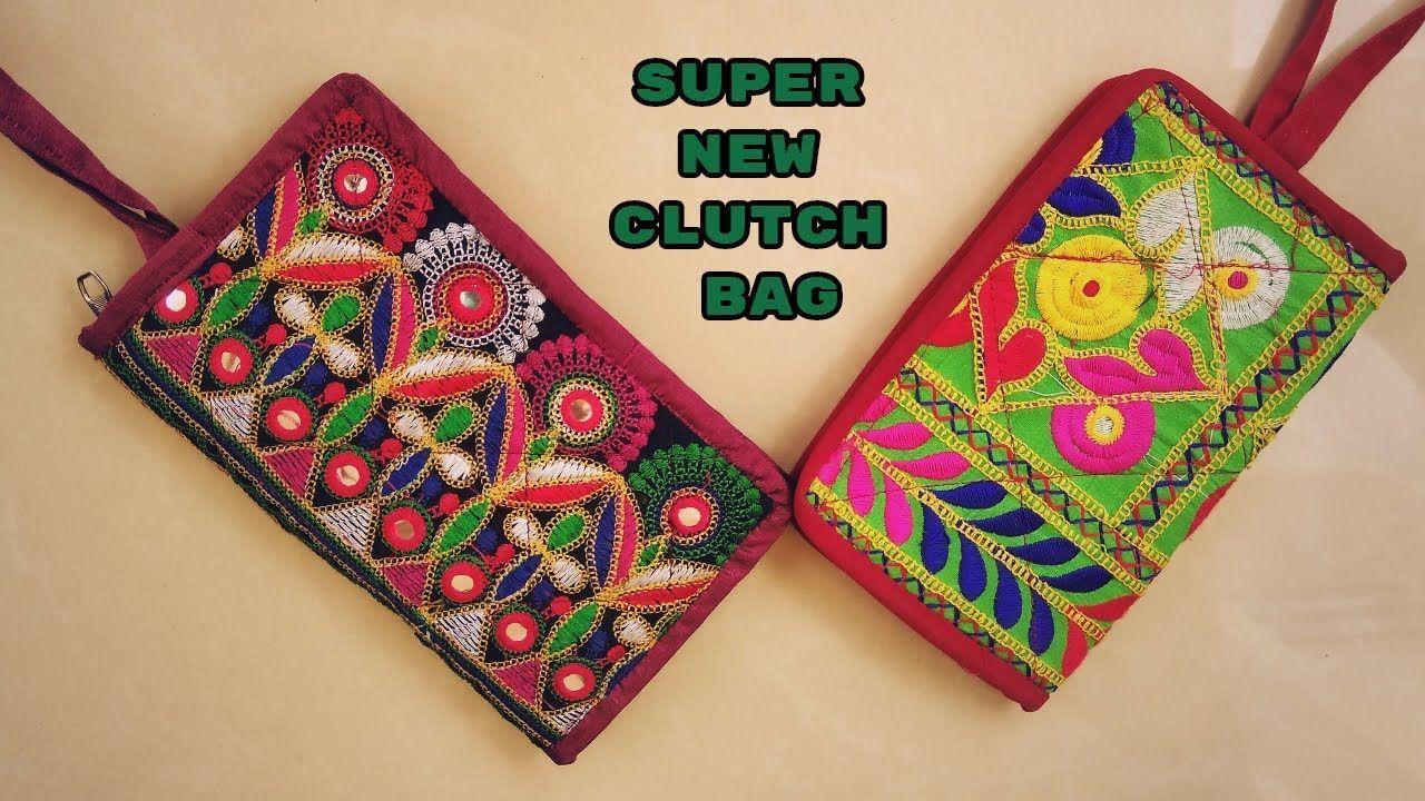 ccc27a1d7b2 new stylish clutch bag make at home diy #clutchesflipkart | Clutches ...