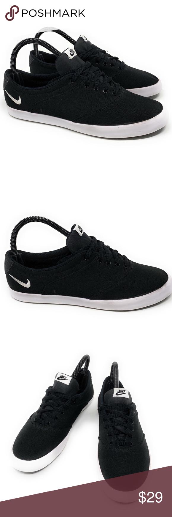 Nike Mini Sneaker Lace Canvas Black