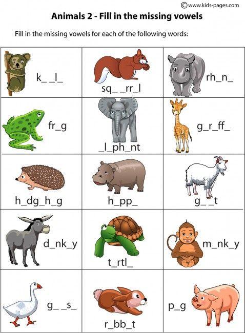 english animal