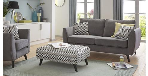 Aurora 3 Seater Sofa Plaza