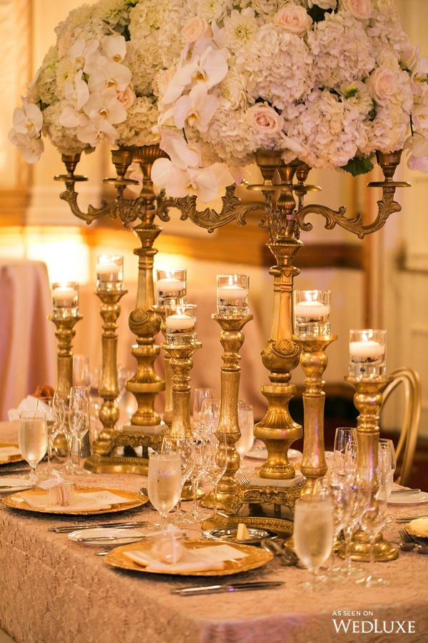 Wedluxe A White Fl Filled Wedding With Gilded Details Photography By Sweet Pea Follow For More Inspi