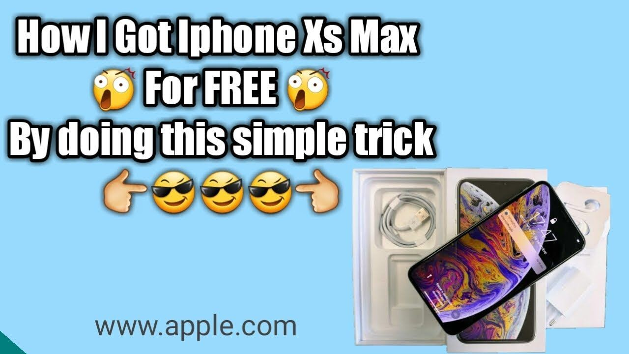 How to get free iphone xs without human verification