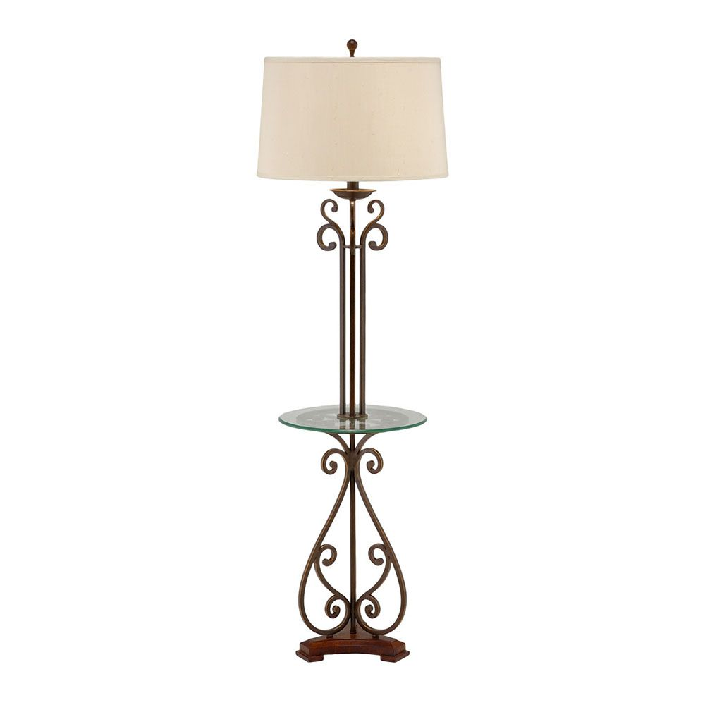 Wildwood Lighting Table Floor Lamp 46877 Free Shipping Floor Lamp Lamp Floor Lamp Table