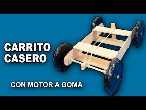 Como Hacer Un Coche O Carro Casero De Madera Con Motor A Goma Paso A