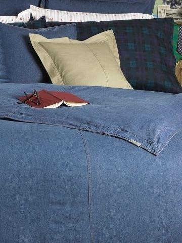 Ralph Lauren University Denim Full Queen Comforter Ebay Denim