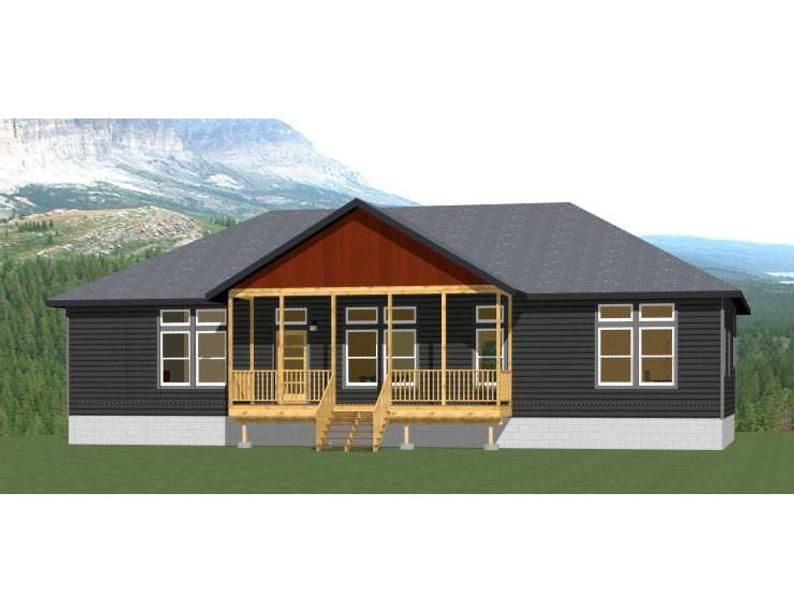 60x30 House 3 Bedroom 2 Bath 1800 Sq Ft Pdf Floor Etsy In 2020 Barn Style House Metal House Plans House