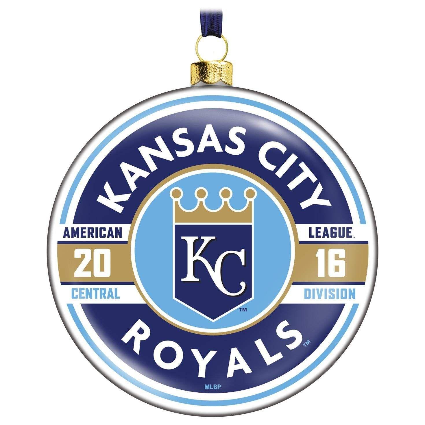 MLB Kansas City Royals™ Glass Ornament | Hallmark Christmas ...