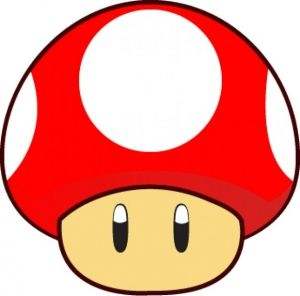 Mario Bros Mushroom Hongo De Mario Letras De Mario Bros Dibujos De Mario