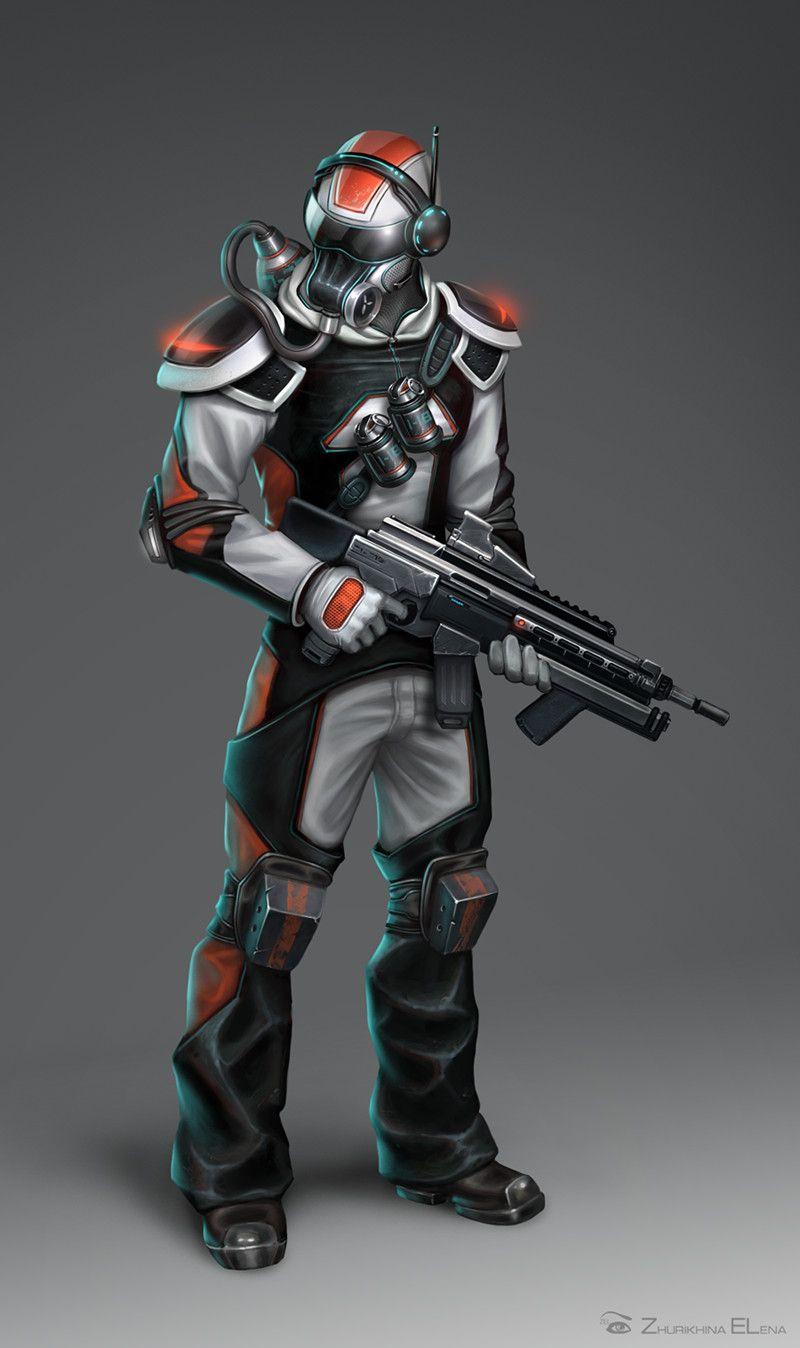 Risultati immagini per soldier sci fi
