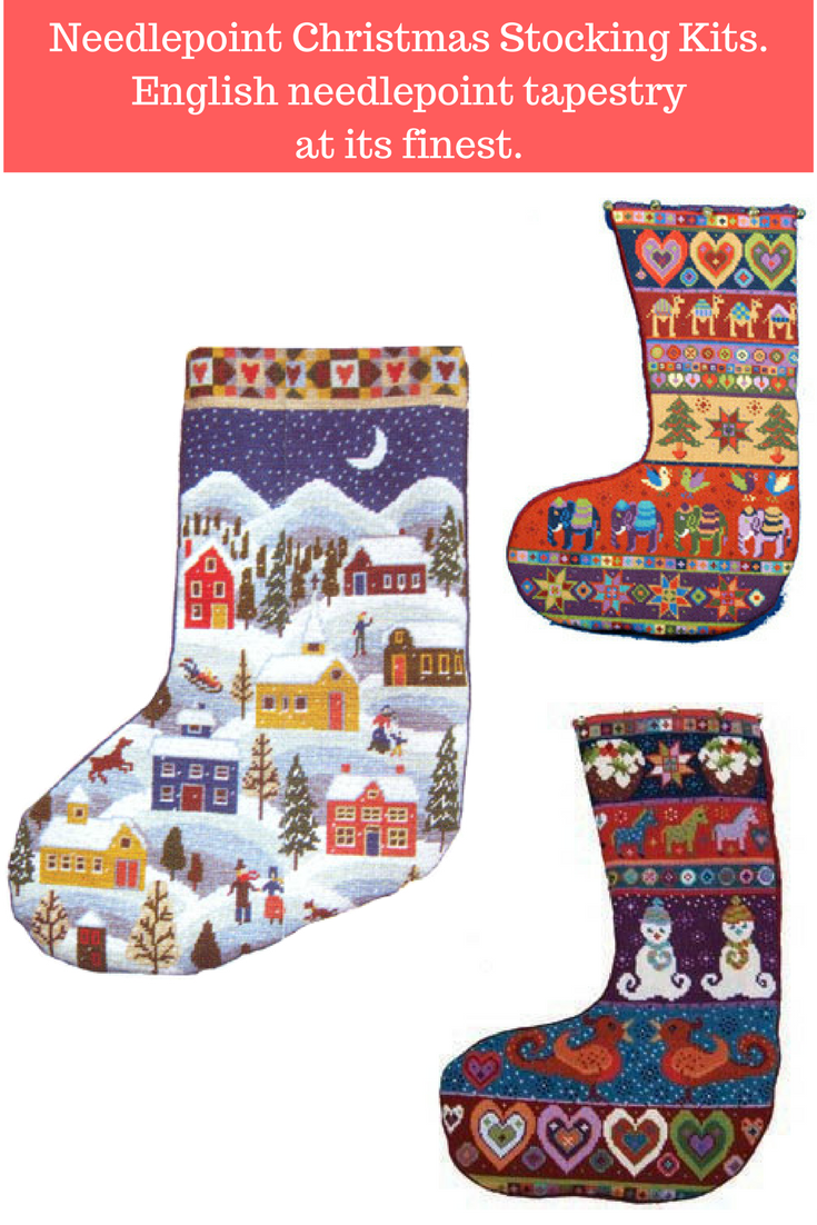 Needlepoint Christmas Stocking Kits.Needlepoint Christmas Stocking Kits From England For The