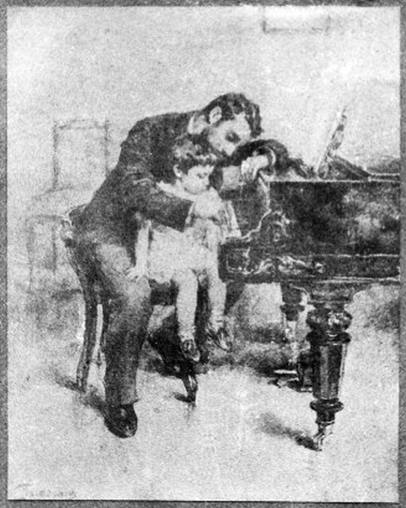 """Л.О. Пастернак. """"Чижик-пыжик"""". 1893 год"""