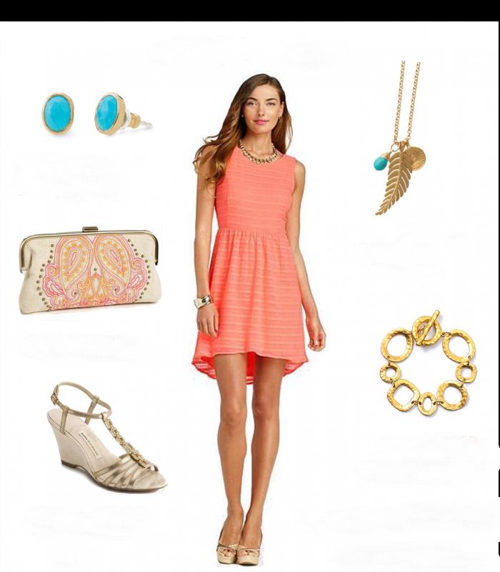 vestido boda-playa-casual-coral | COOLHUNTER | Pinterest | Coral ...
