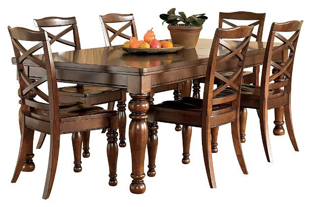 Rustic Brown Porter Dining Room Table View 8 My Dream Home