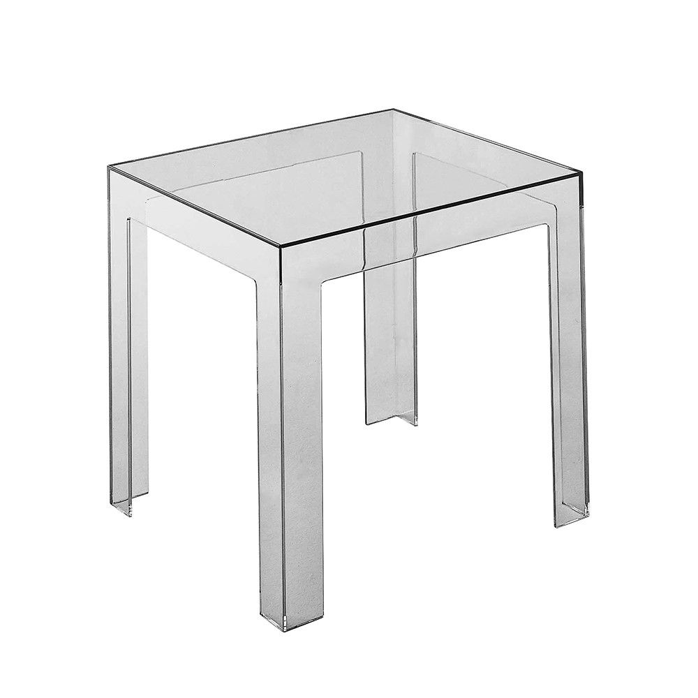 Buy Kartell Jolly Side Table Smoke Grey Furniture Patio Side