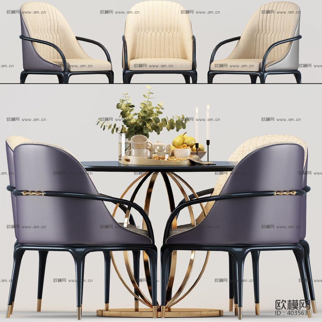 3d Model Dining Tables And Chairs 7 Free Download Table And Chairs Dining Table Coffee Table 3d Model