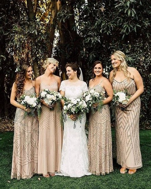 Light Purple Bridesmaid Dresses Adrianna Papell
