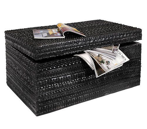 This chest is covered with recycled rubber tires. - This Chest Is Covered With Recycled Rubber Tires. Fascinating