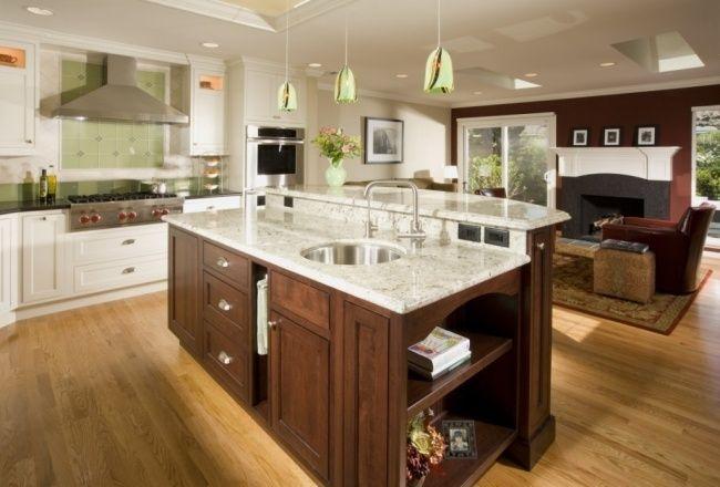 weißer marmor ideen kücheninsel designs marmor Einrichtung Pinterest