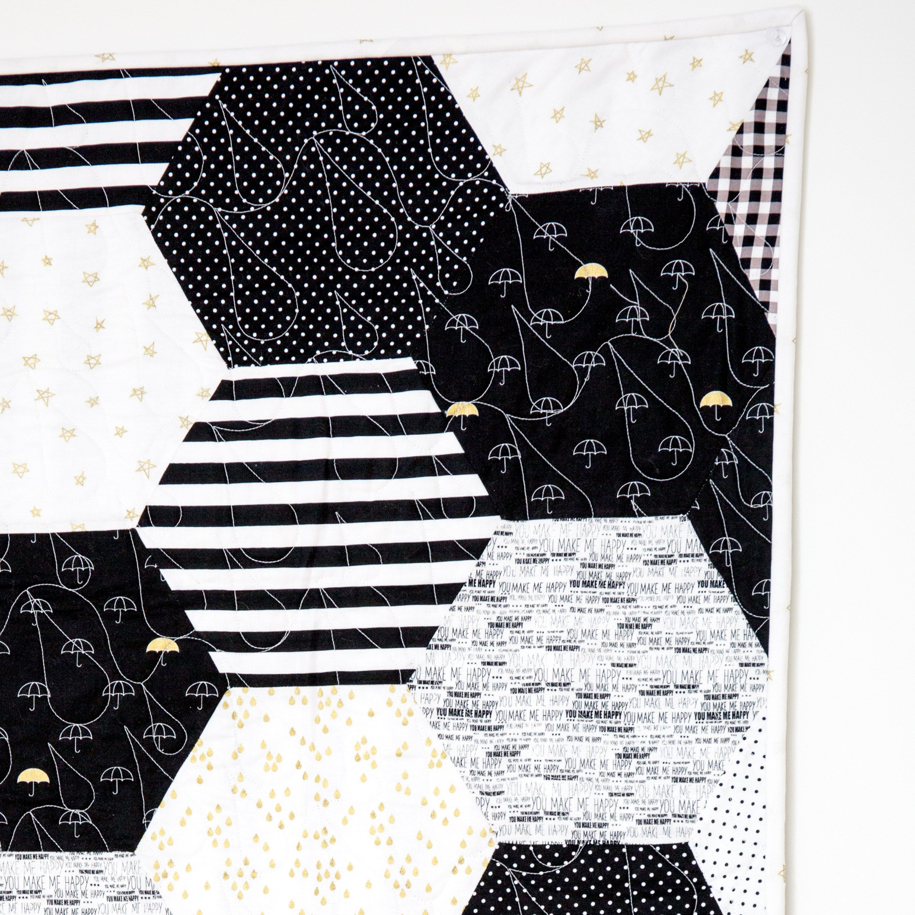 How to Sew Hexagons With a Sewing Machine Hexagon