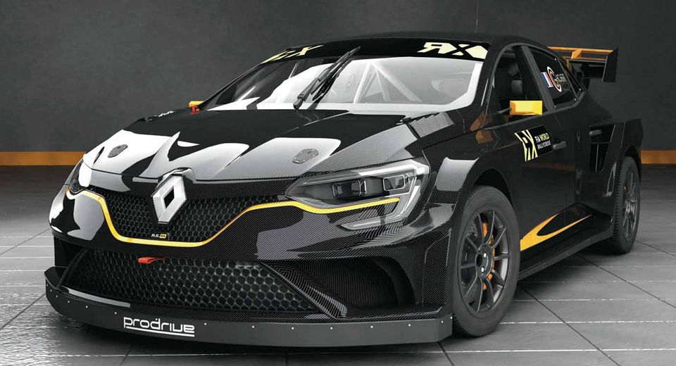 This Badass Rallycross Megane Is Prodrive S Latest Project Super
