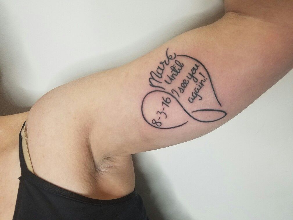 Until I See You Again Tattoo Tattoos I Have Done Pinterest