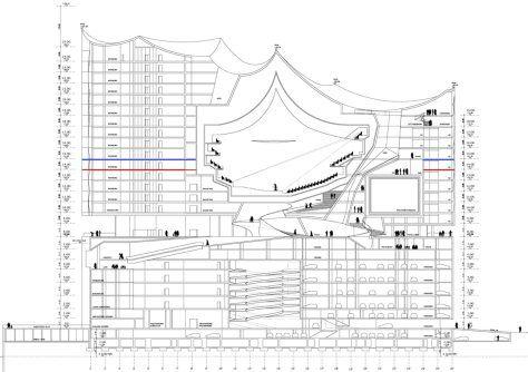 Elbphilharmonie By Herzog De Meuron Hamburg Diagram Architecture Herzog