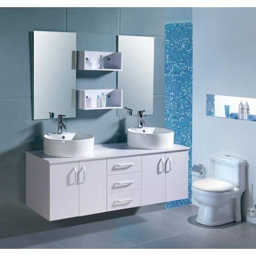 Design et Prix Magnifique meuble salle de bain complet Vitoria - 2 ...