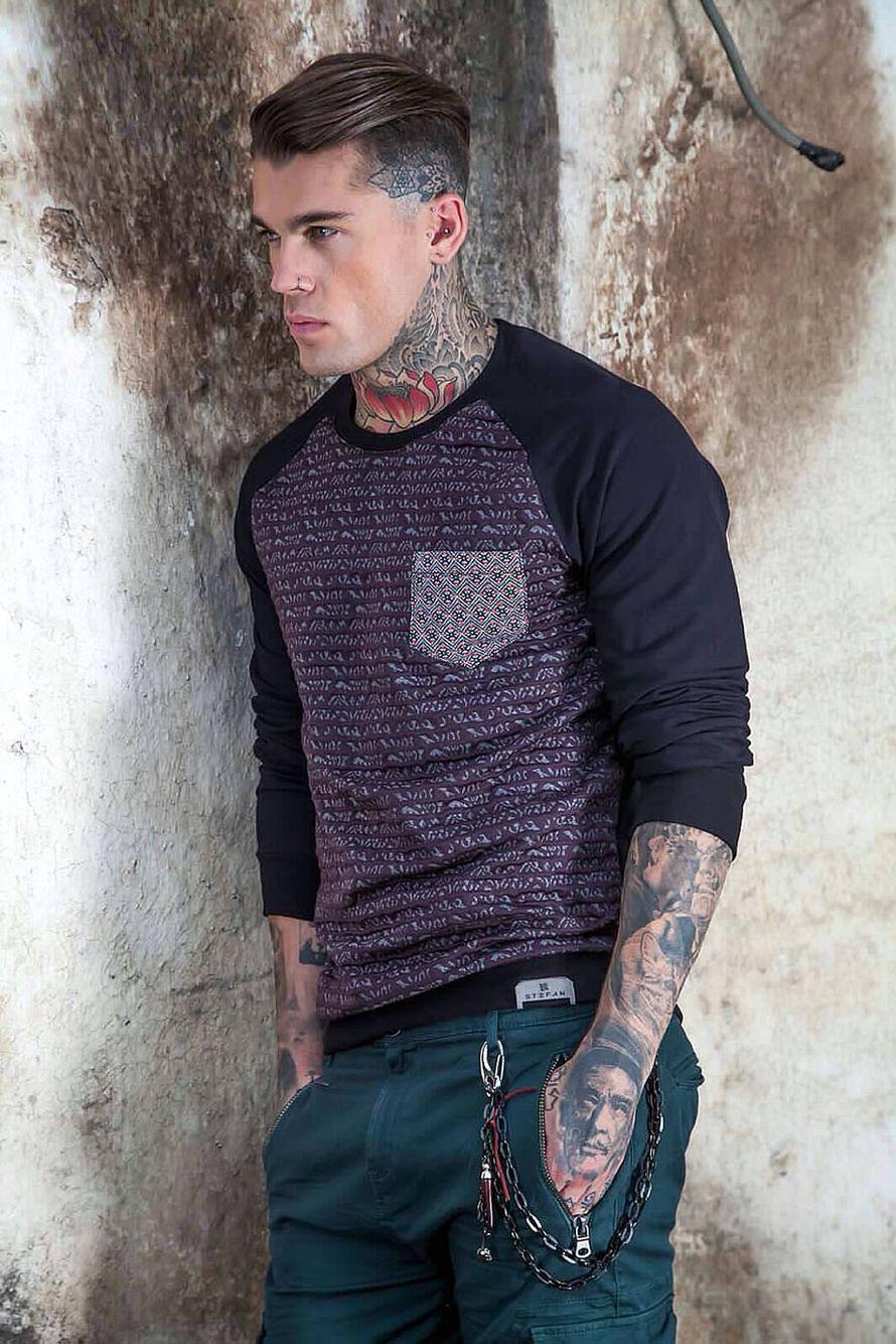 Stephen James for Stefan Fashion stephen_james_hendry