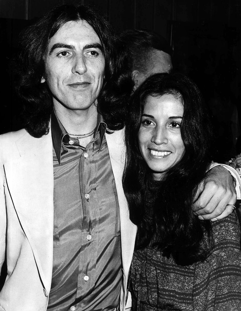 George Harrison And Olivia Trinidad Arias