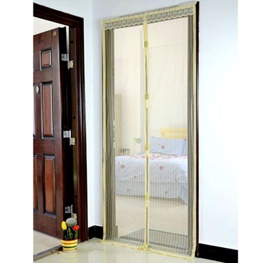 Mesh Door Curtain Bug Screen Door Magnetic Screen Door Home