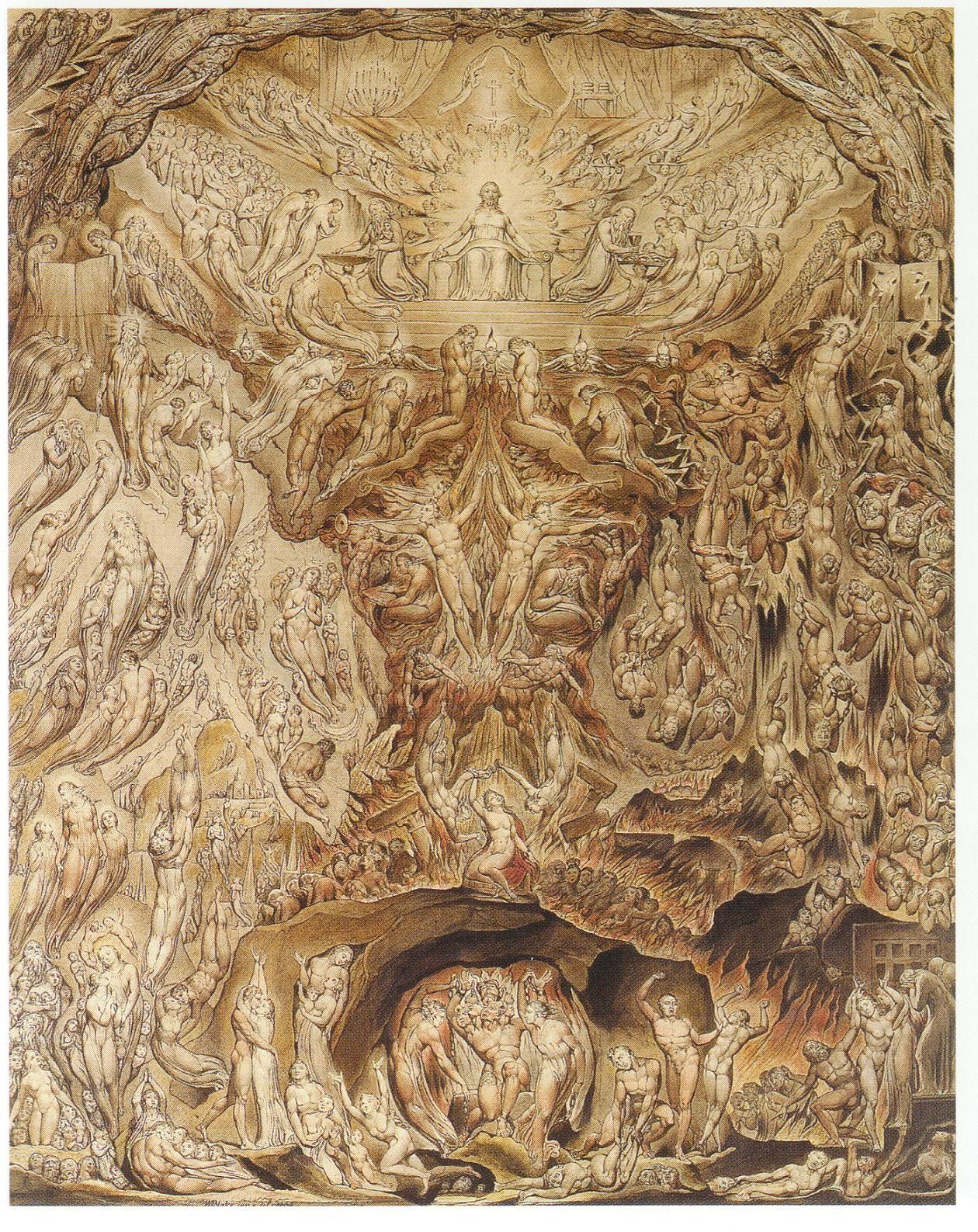 Satan Exulting Over Eve 1795 By William Blake Symbolism Religious