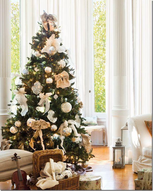 Très christmas tree ; case e interni-natale-idee per decorare l'albero  YJ05