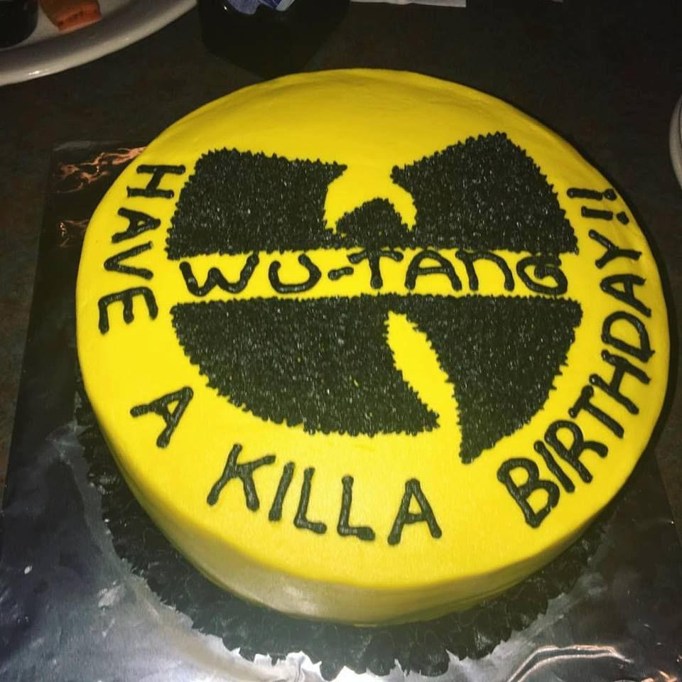 Wutang Birthday Cake Cakes Ive Made Pinterest Cake Birthday