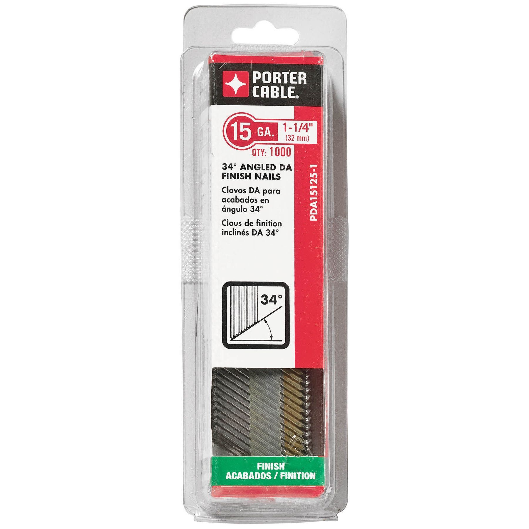 Stanley Porter Cable PDA15125-1 1000-count 1-1/4\