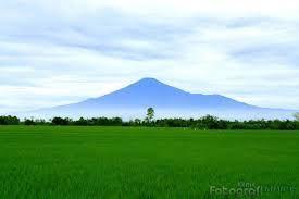 Gunung Ciremai Berlokasi Di Kota Kuningan Jawa Barat Dari Jendela Rumah View Nya Beginian Nikmat Tuhan Yang Mana Yang Kau Dus Pedesaan Kota Rumah Pedesaan