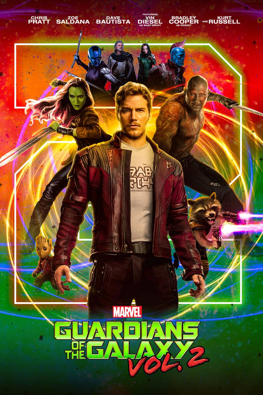 Guardians of the Galaxy Vol. 2 (Poster) by shathit | Guardians of ...