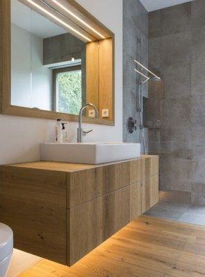 Sconto per il mobile bagno Valerie in legno - stile moderno ...