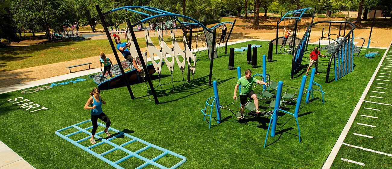 Move over kids this is a playground for adults voice of for Playground equipment ideas